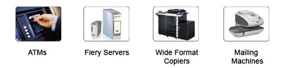 Applications Copier Industry