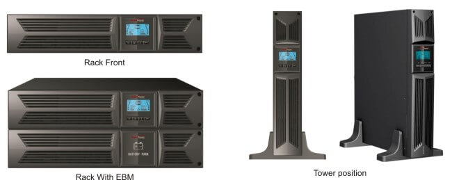 DSS RT-TBF Uninterruptible Power Supply - Various Configurations