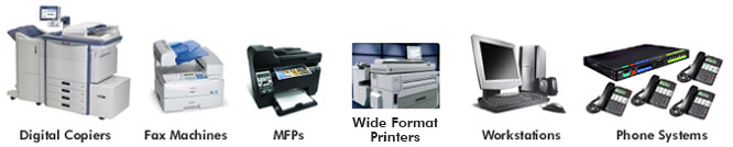 Applications Copier Industry